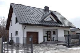 modern Houses by Biuro Projektów MTM Styl - domywstylu.pl