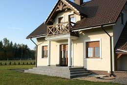 Maisons de style de style Classique par Biuro Projektów MTM Styl - domywstylu.pl