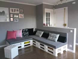Salas peque as 10 ideas de decoraci n for Salas chicas economicas