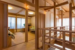 吹抜、子供室: shu建築設計事務所が手掛けた子供部屋です。