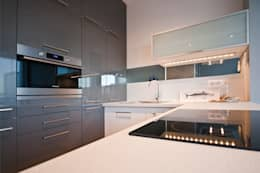 Кухни в . Автор – IDAFO projektowanie wnętrz i wykończenie