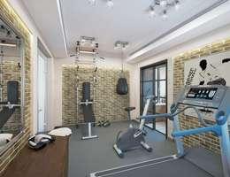 classic Gym by Design studio of Stanislav Orekhov. ARCHITECTURE / INTERIOR DESIGN / VISUALIZATION.