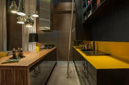 eclectic Kitchen by Pulse Arquitetura
