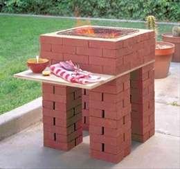 C mo construir un asador en tu patio f cil y sin invertir for Asadores de jardin de ladrillo