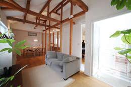 modern Living room by atelier m