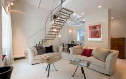 Salas de estilo ecléctico por bilune studio