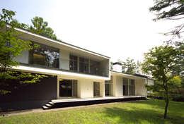 บ้านและที่อยู่อาศัย by 株式会社廣田悟建築設計事務所