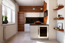 Projekty,  Kuchnia zaprojektowane przez Yurii Hrytsenko