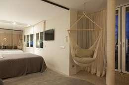 mediterrane Slaapkamer door Pia Estudi