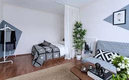 scandinavische Slaapkamer door L'Essenziale Home Designs