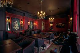 LORD Restaurant: styl , w kategorii Salon zaprojektowany przez 2kul INTERIOR DESIGN