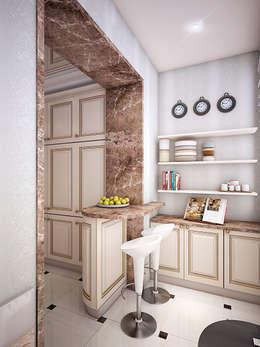 Дизайн квартиры в Новомосковске: Кухни в . Автор – Алина  Насонова