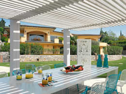 Balconies, verandas & terraces  by Cagis