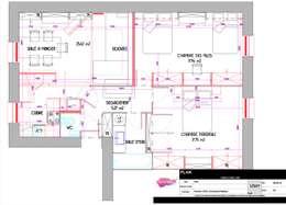 Phòng khách by Pauline VIDAL - Architecte d'Intérieur CFAI
