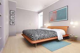 Спальни в . Автор – DiagrammaStudio