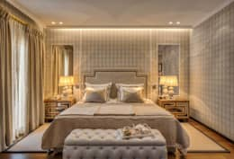 eclectic Bedroom by Viterbo Interior design