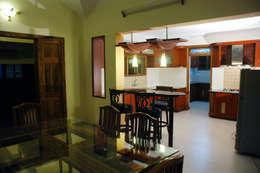 Krishnakumar Residence : classic Dining room by dd Architects