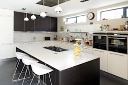 Projekty,  Kuchnia zaprojektowane przez xsite architecture LLP