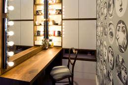 Projekty,  Sypialnia zaprojektowane przez xsite architecture LLP
