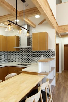 moderne Keuken door woodsun