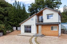 Casas de estilo moderno por woodsun