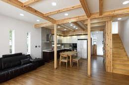 Projekty,  Salon zaprojektowane przez woodsun