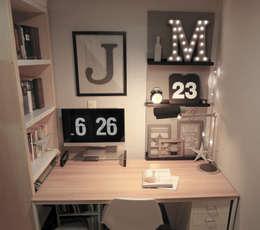 Oficinas de estilo escandinavo por little lamb story