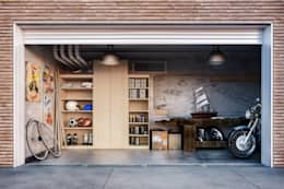 Garages/schuren door de-cube