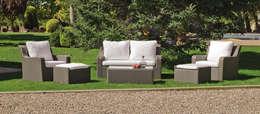 Jardín de estilo  por Hevea