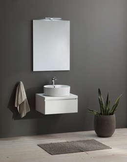 mobile bagno sospeso minimal