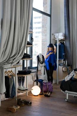 Loft Sucre Barcelona: Vestidores de estilo moderno de Ramon Soler