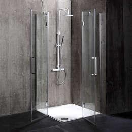 Box doccia London : Bagno in stile in stile Moderno di Kodicebagno