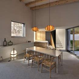 Comedores de estilo mediterraneo por Graph Arquitectura