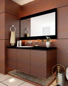 Baño: Baños de estilo  por Taller 03