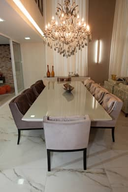 classic Dining room by Projecta Arquitetura
