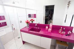 Ванные комнаты в . Автор – Projecta Arquitetura