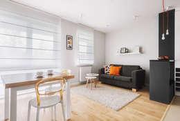 modern Living room by Lidia Sarad