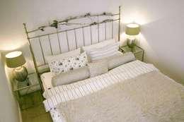 I letti matrimoniali in ferro battuto romantici con stile - Lettino attaccato al letto ...