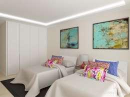 Dormitorios de estilo moderno por GUNNI & TRENTINO