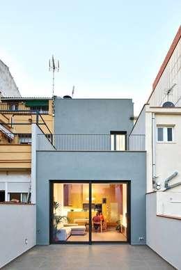 minimalistic Houses by Vallribera Arquitectes
