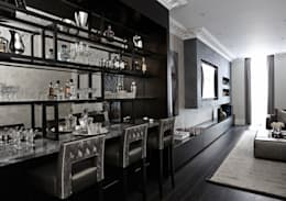 modern Living room by Boscolo