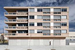 Ignacio Quemada Arquitectos의  베란다