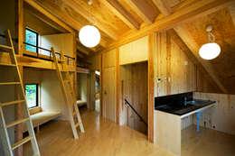 ausgefallene Schlafzimmer von 山本想太郎設計アトリエ