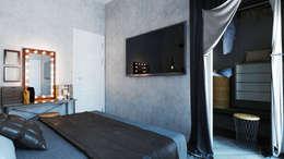 industriële Slaapkamer door Loft&Home