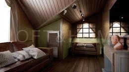 Дуплекс, КП Кембридж: Спальни в . Автор – Loft&Home