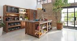 Projekty,  Kuchnia zaprojektowane przez Design Lounge Hinke Wien
