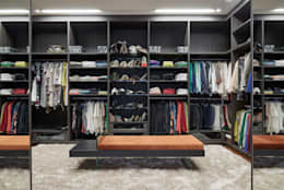 Vestidores y closets de estilo clásico por Estela Netto Arquitetura e Design