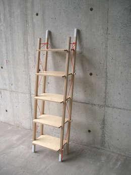 minimalistische Woonkamer door abode Co., Ltd.