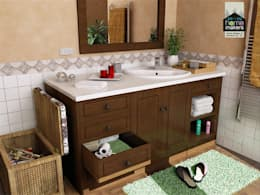 Ultra-modern and 'never seen before' art only by home makers: modern Bathroom by home makers interior designers & decorators pvt. ltd.