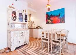 alma portuguesa: rustik tarz tarz Mutfak